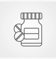 medicine icon sign symbol vector image
