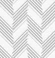 Monochrome pattern with gray and dark gray chevron vector image vector image