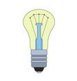 the of lightbulb vector image