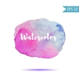 Watercolor-style spot vector image vector image