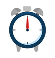 alarm clock isolated icon vector image vector image