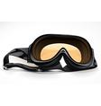 black scuba or ski mask vector image