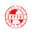 export sign distressed circle stamp sign graphic vector image vector image
