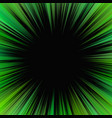 green psychedelic abstract star burst background vector image vector image