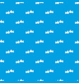 male hands showing ok sign pattern seamless blue vector image vector image