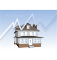 mortgage consept vector image