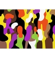 people - abstract background vector image vector image