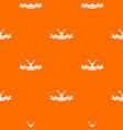 repair tool pattern orange vector image vector image