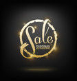 seasonal sale card vector image