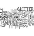 shiny word cloud concept vector image