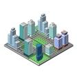 Skyscraper City Concept vector image