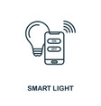 smart light outline icon creative design from vector image vector image