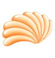 A seashell vector image