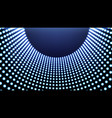 abstract futuristic grid vector image vector image