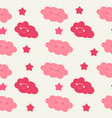 children s seamless pattern background with sun vector image vector image