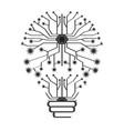 conceptual idea lightbulb vector image vector image