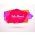 Hand drawn banner vector image vector image