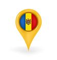 Location Moldova vector image vector image