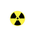 radiation icon isolated on background vector image vector image