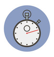sports stopwatch vector image