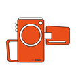 videocamera cinema icon image vector image