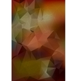 Abstract bright geometric polygonal background vector image vector image