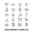 Children s health kids eating healthy doctor