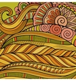 Decorative ornamental ethnic background vector image vector image