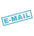 e-mail rubber stamp vector image vector image