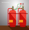Fire Protection vector image vector image