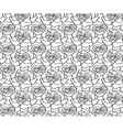 Floral seamless pattern background with vector image