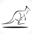 kangaroo 3 vector image vector image