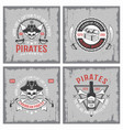 lifestyle pirates concepts vector image