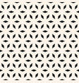 seamless pattern simple floral geometric ornament vector image vector image