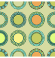 Seamless vintage hand drawn pattern vector image vector image