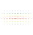 sinusoid wave spectrum halftone pattern vector image vector image