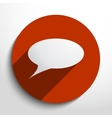 speech bubble web icon vector image