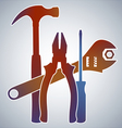 Tools Collection vector image vector image
