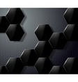background of honeycombs vector image