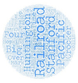The Big Four text background wordcloud concept vector image vector image