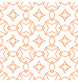 tile pattern or orange and white background vector image vector image