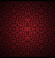 vintage red lace background vector image vector image
