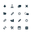 webdesign icons set vector image vector image