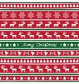 Seamless Christmas background14 vector image
