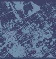 blue grunge texture vector image