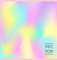 holographic fashion pastel abstract background vector image vector image