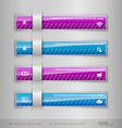Modern business tabs - infographics - template for vector image