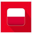 poland flags design vector image