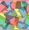 seamless pattern transparent color speech bubbles vector image vector image