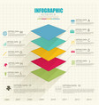web infographic template vector image vector image